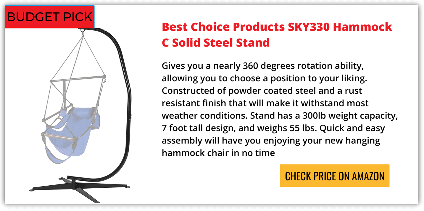 Best Hammock Chair Stand Reviews