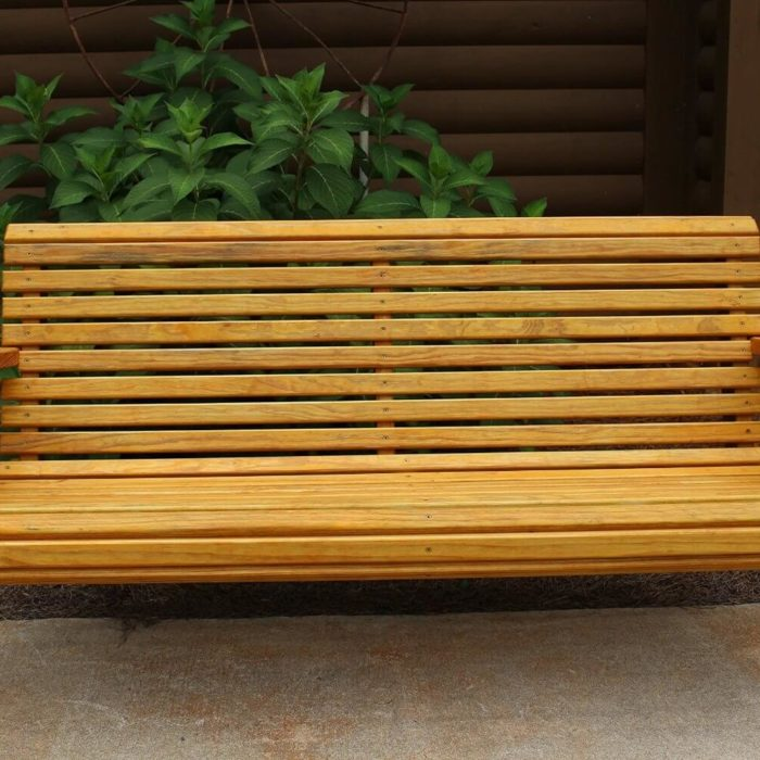 5 Natural Cedar Porch Swing Amish Crafted Reviews