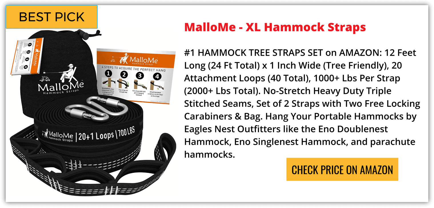 Best Hammock Straps Reviews