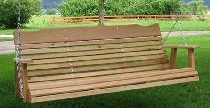 Kilmer Creek 5' Natural Cedar Porch Swing