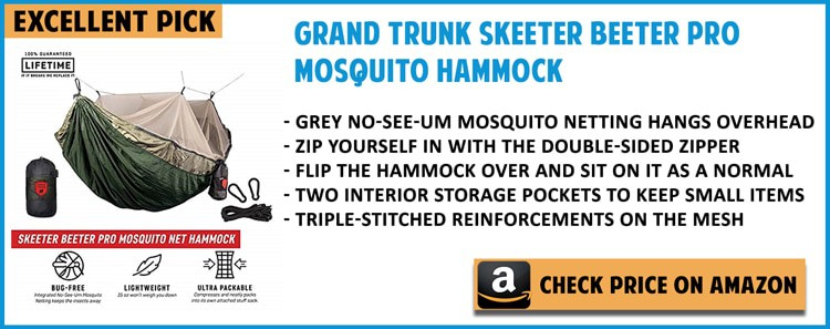 THE BEST CAMPING HAMMOCK WITH MOSQUITO NET